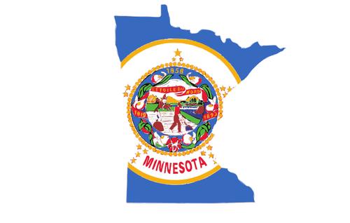 Minnesota\'s map.