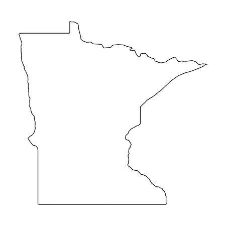 518 Minnesota Outline Stock Illustrations, Cliparts And.