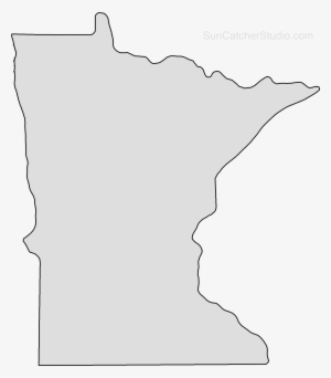 Minnesota Outline PNG, Transparent Minnesota Outline PNG.