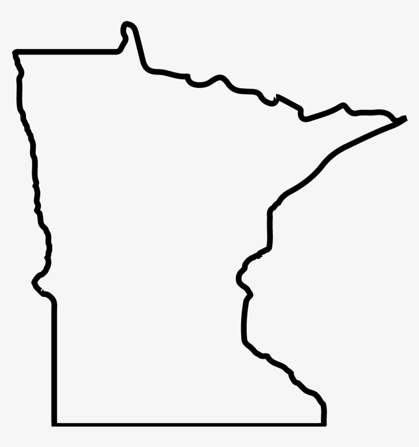 Minnesota Outline Png Clip Art Library Library.