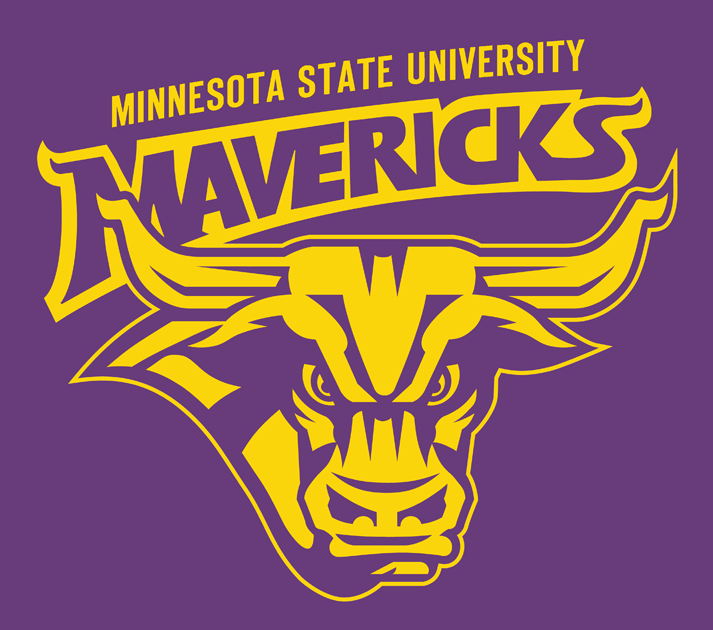 Minnesota State Mavericks Alternate Logo.