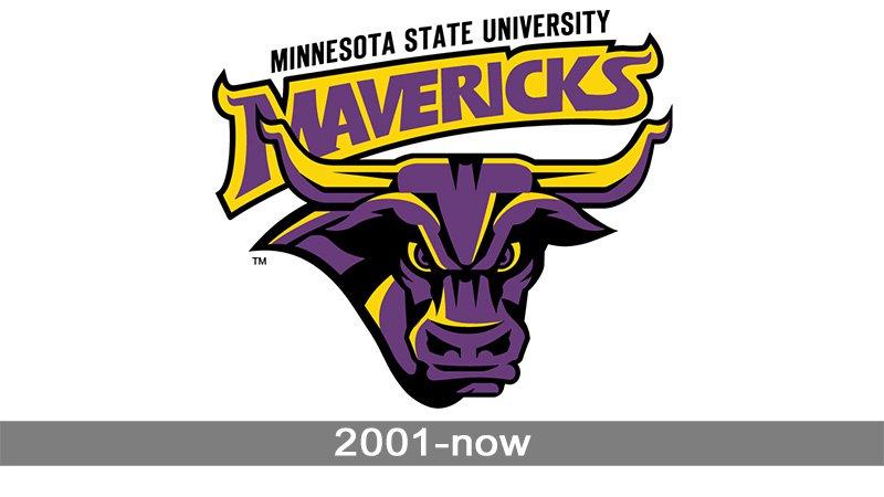 Minnesota State Mavericks Logo.