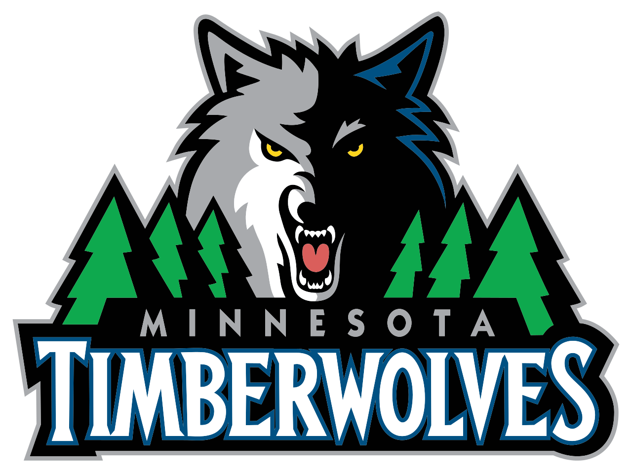 Minnesota Timberwolves Logo transparent PNG.