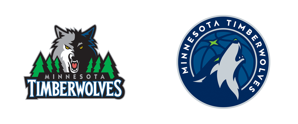 Brand New: New Logo for Minnesota Timberwolves by Rare Design.
