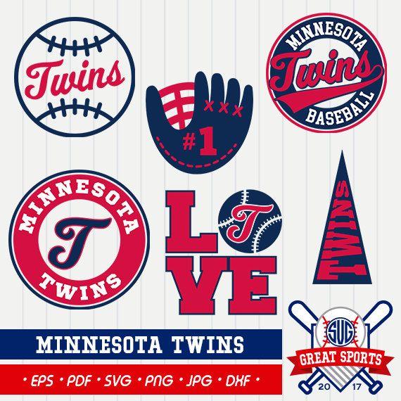Minnesota Twins SVG, Twins Clipart, Minnesota Twins DXF.