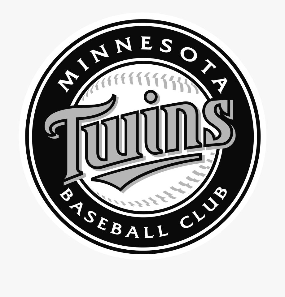 Minnesota Twins Logo Black And White.