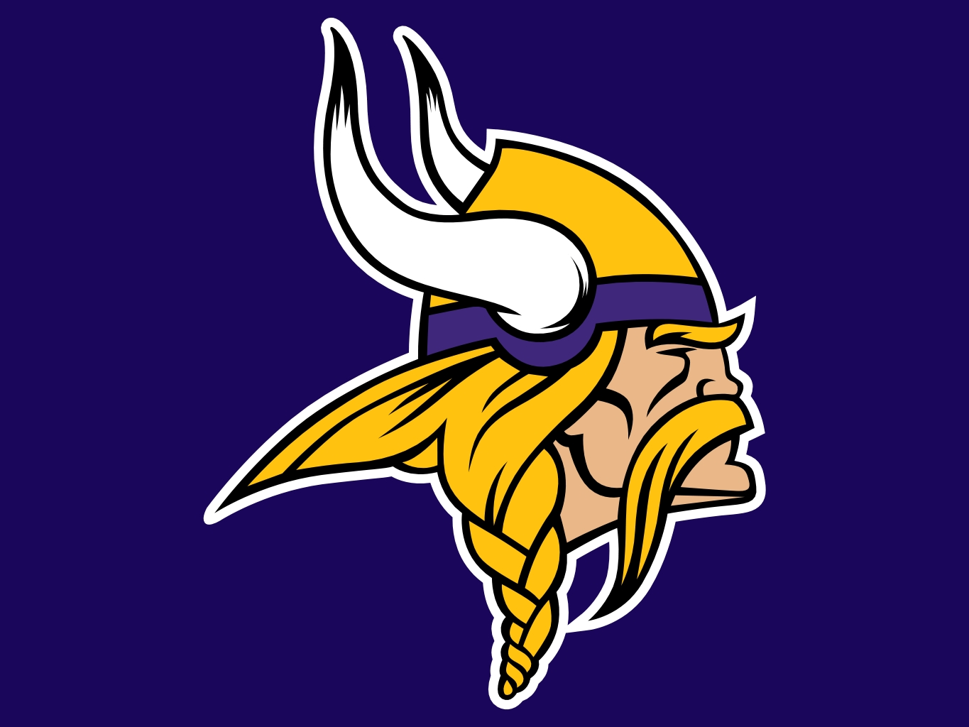 Free download minnesota vikings logo [1365x1024] for your.