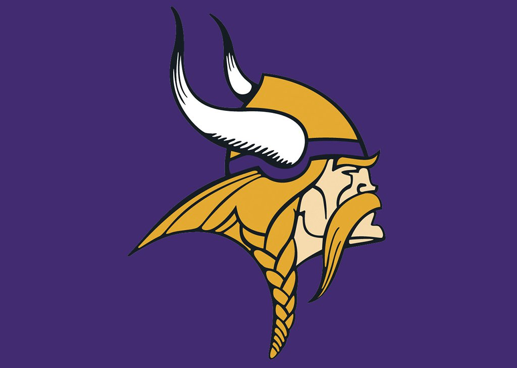 Meaning Minnesota Vikings logo and symbol.