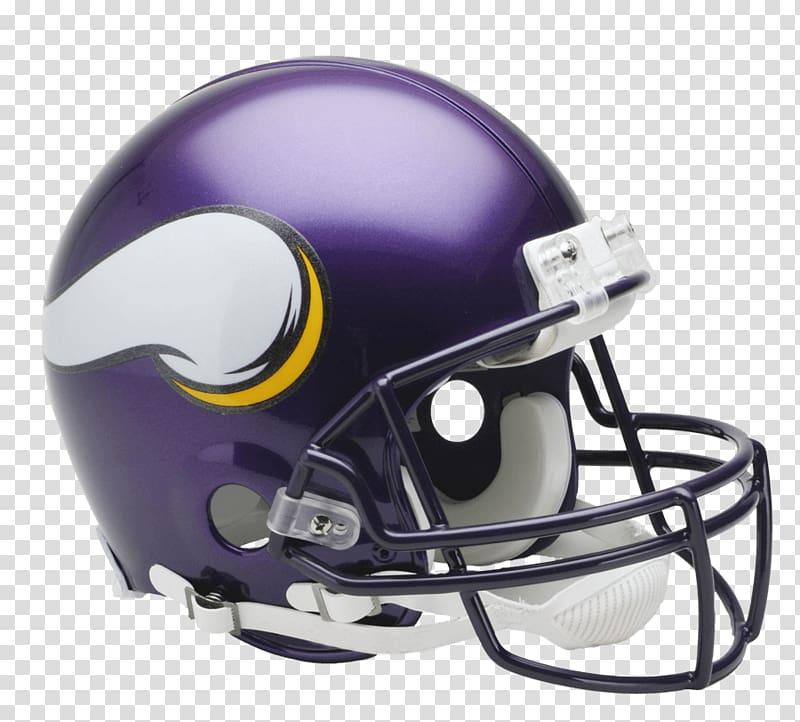 Purple and white football helmet, Minnesota Vikings Helmet.