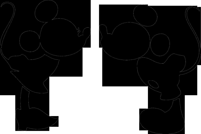 Mickey and Minnie Wedding Clip Art.