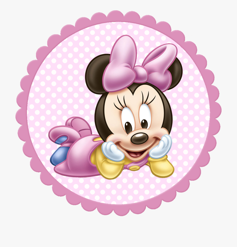 Baby Minnie Mouse Png, Cliparts & Cartoons.