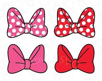 Minnie bow svg.