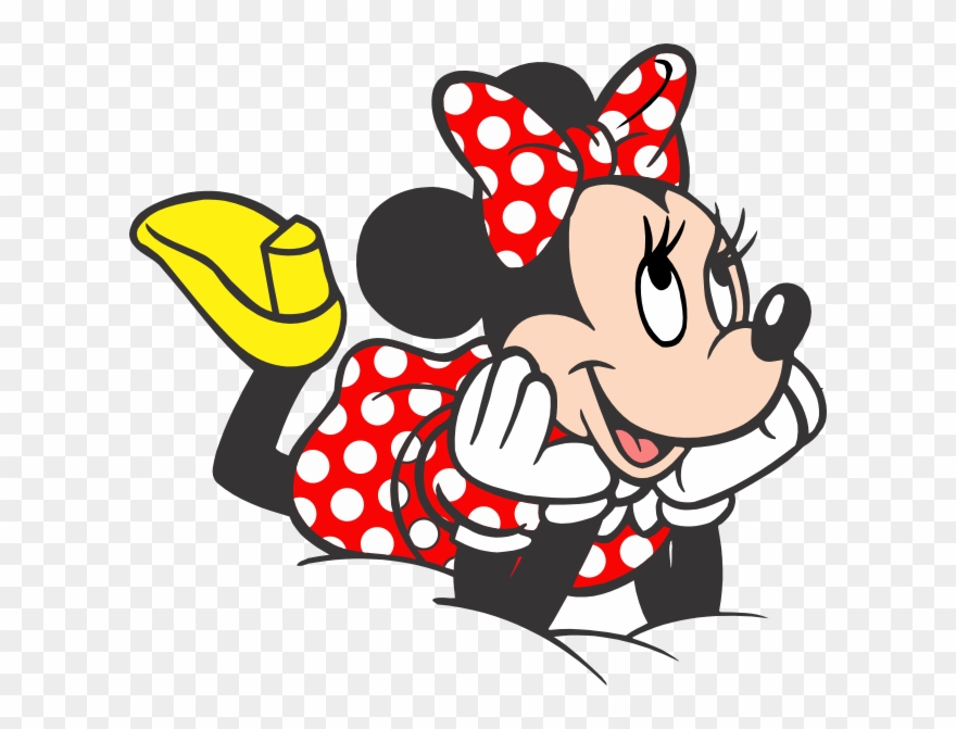 Turma Do Mickey Minnie Vermelha Png Imagens E Moldes.