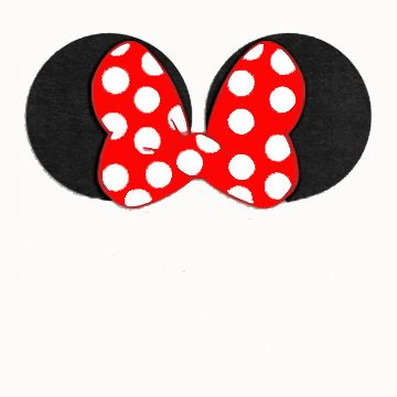 Minnie Ears Clipart.