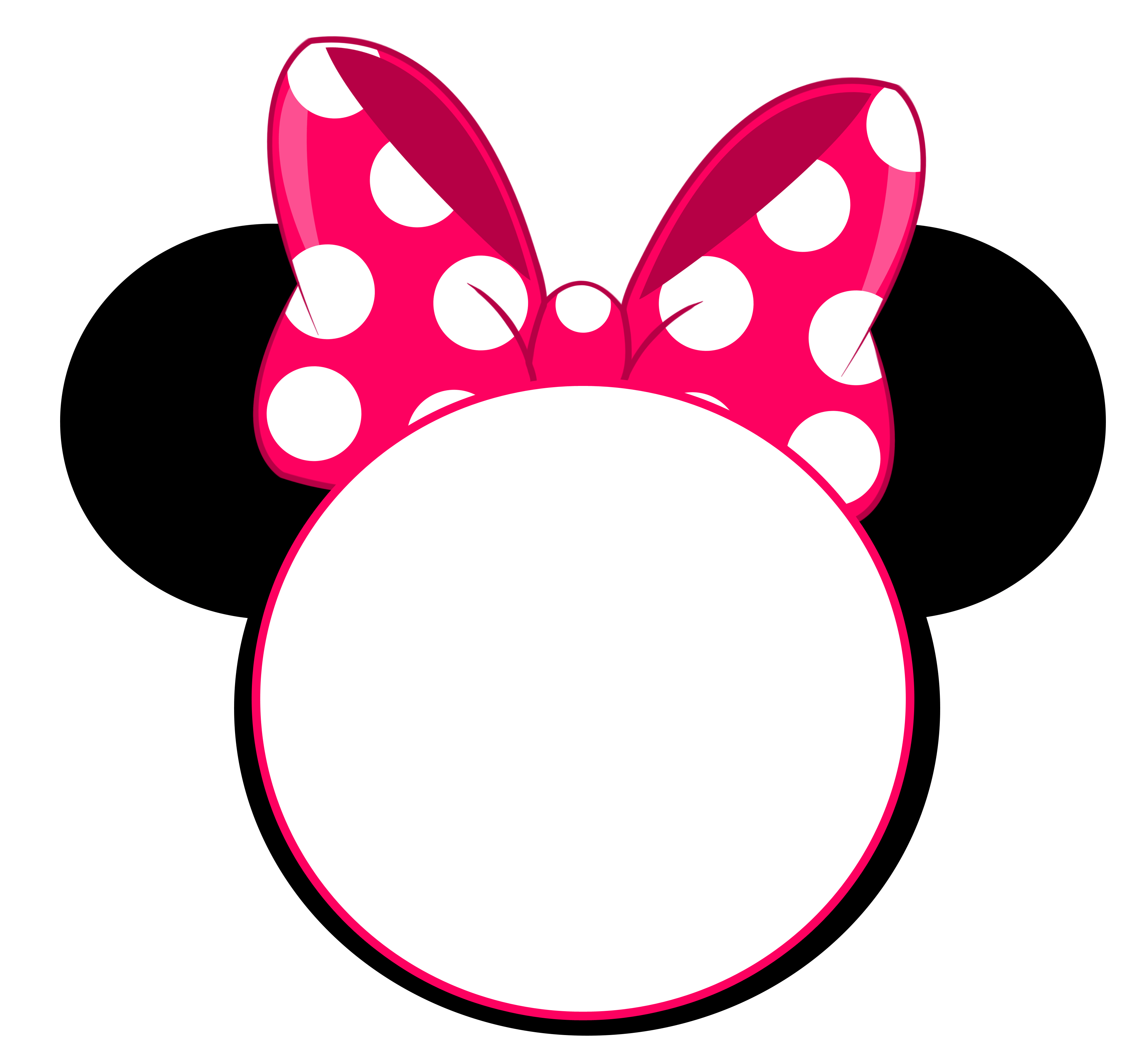 Minnie ears clipart clipart images gallery for free download.