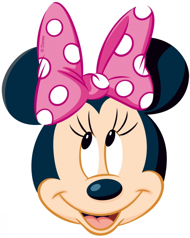 Free Minnie Mouse Head Outline, Download Free Clip Art, Free.