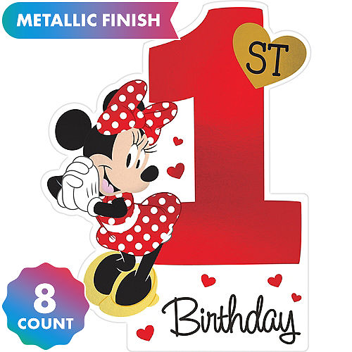 Minnie Mouse 1st Birthday Clipart (89+ images in Collection.