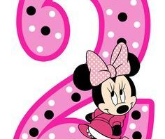 Minnie mouse 2nd birthday clipart 2 » Clipart Portal.