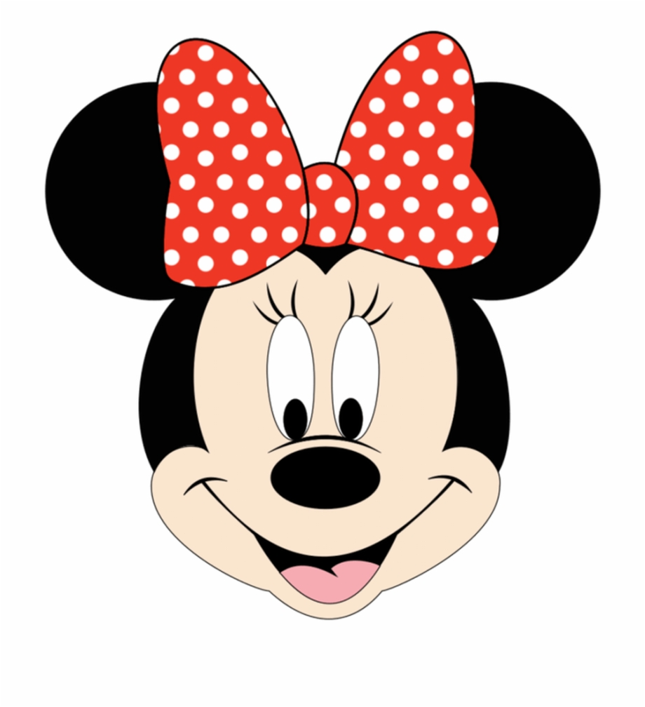 Minnie Mouse Face Clipart.