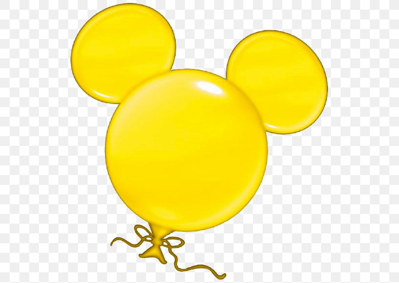 Mickey Mouse Minnie Mouse Clip Art Balloon, PNG, 547x582px.