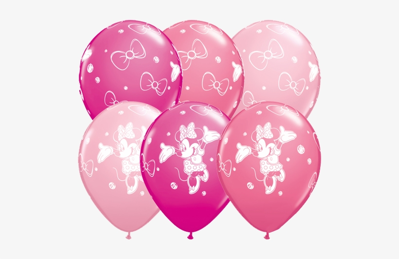 Minnie Mouse Balloons Png.