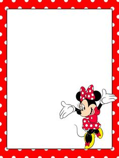 Minnie Mouse Frame.