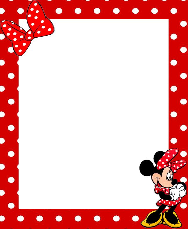 Mickey Mouse Border Free Download Clip Art.