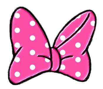 Minnie Mouse Bow Clip Art.