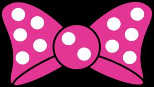 FREE CLIP ART….Minnie Bow clip art.