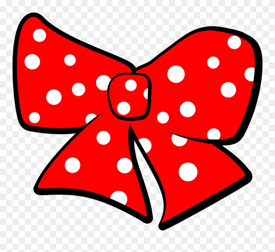 Free Minnie Mouse Bow Template.