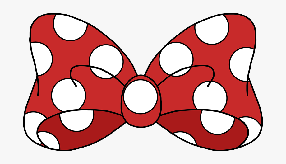 Mickey Mouse Bow Png.