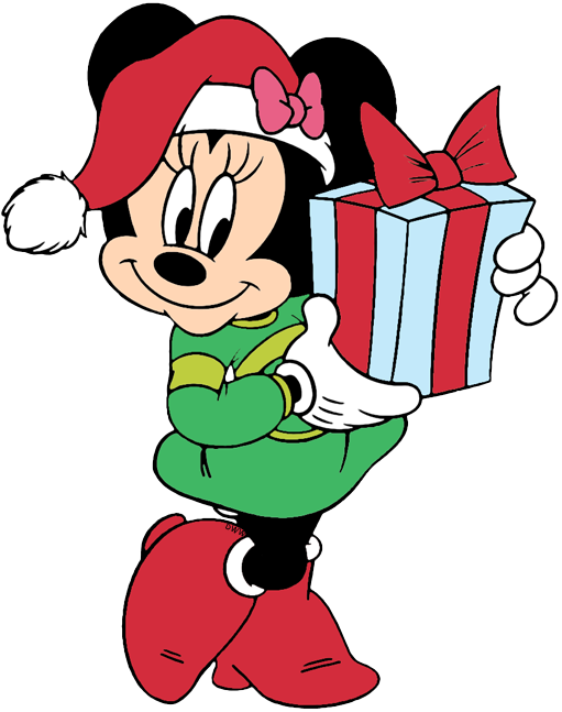 Mickey Mouse Christmas Clip Art.