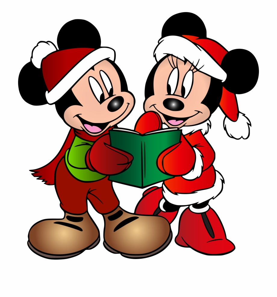 Minnie And Mickey Mouse Christmas Free PNG Images & Clipart.