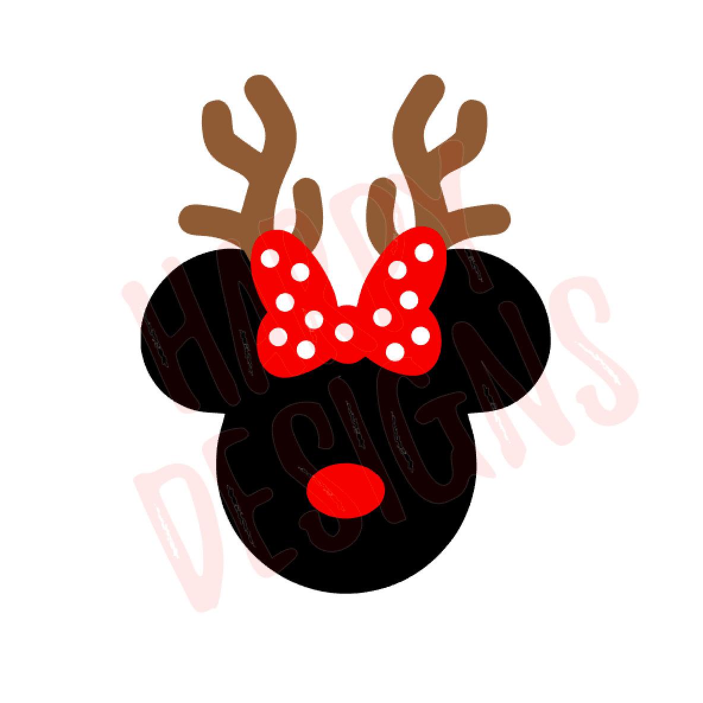Christmas minnie.