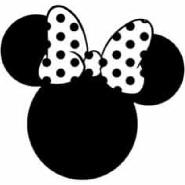 Minnie Mouse Clipart Black And White (91+ images in.