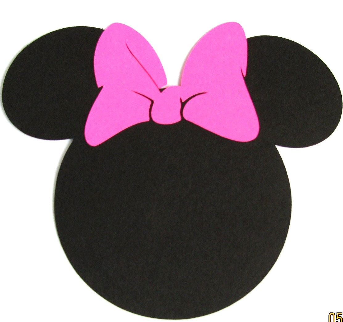 Minnie mouse ears silhouette clipart kid 3.