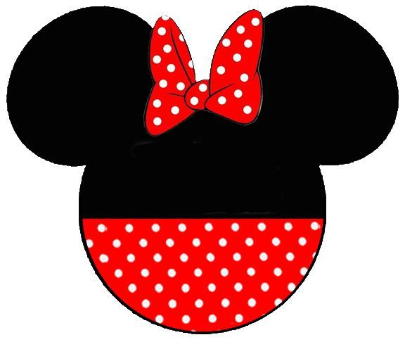 minnie mouse head clipart.