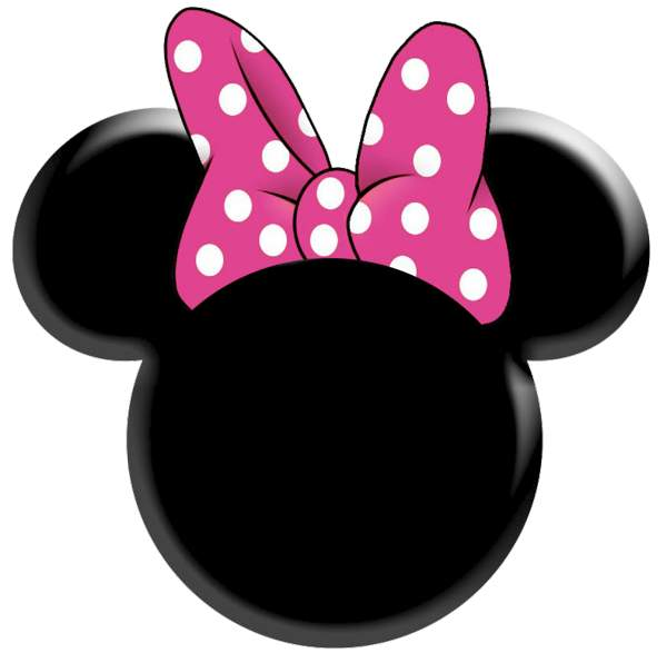 Minnie Mouse Head Outline.