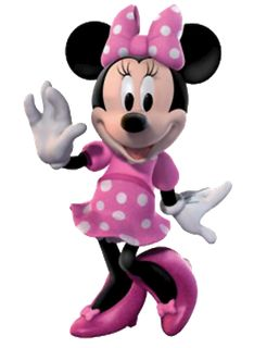 Minnie Mouse Pink Clipart.