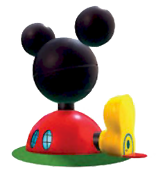 Mickey Mouse Glove Clip Art.