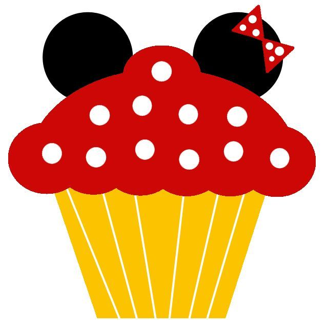 Image result for mickey birthday cupcakes printable free.