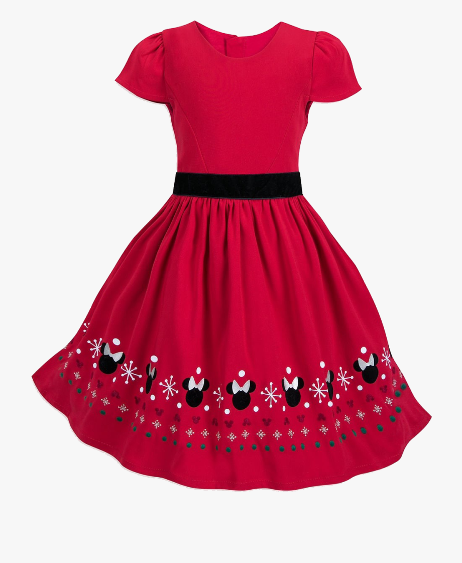 Minnie Mouse Dress For Teens , Transparent Cartoon, Free.