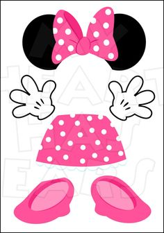 minnie mouse face printable.