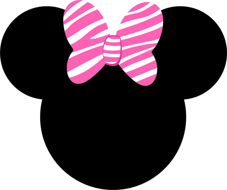 368 Minnie Mouse Bow free clipart.