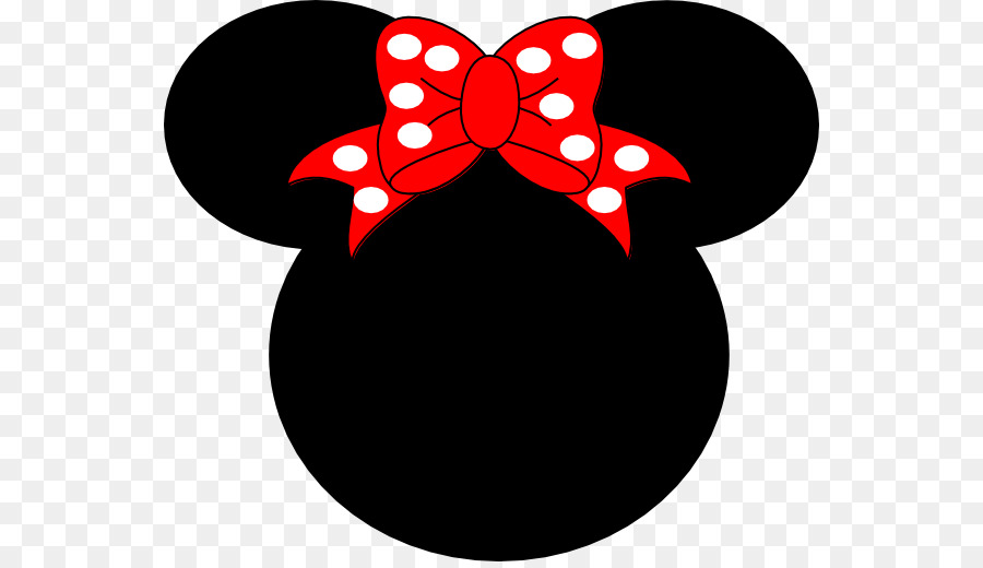 Free Clip Art Minnie Mouse Silhouette.