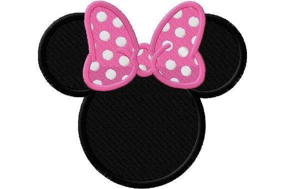 Minnie Mouse Ears Clip Art.