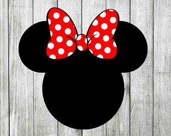 Mouse ears svg.
