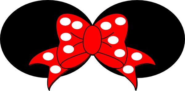 minnie mouse bow Minnie mouse ears clipart red bow 2 clip.