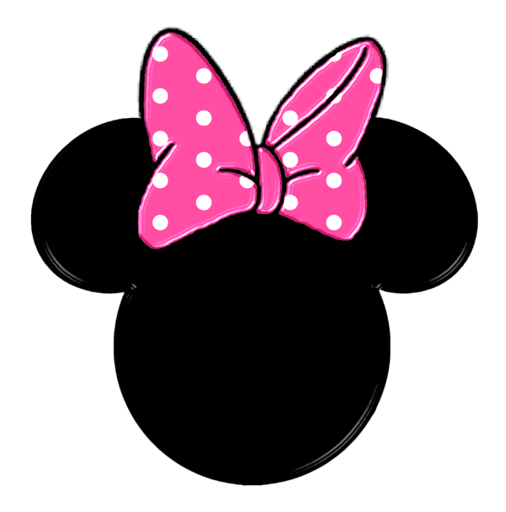 Minnie Mouse Face Vector.