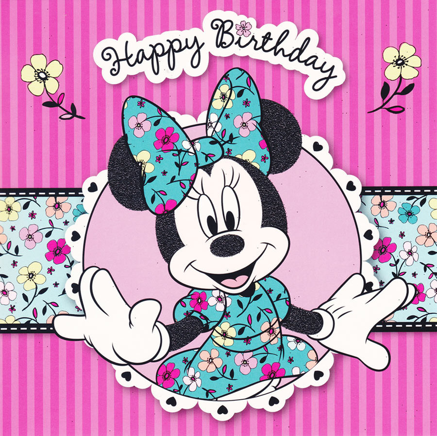 Minnie Mouse Happy Birthday Clip Art Free image information.